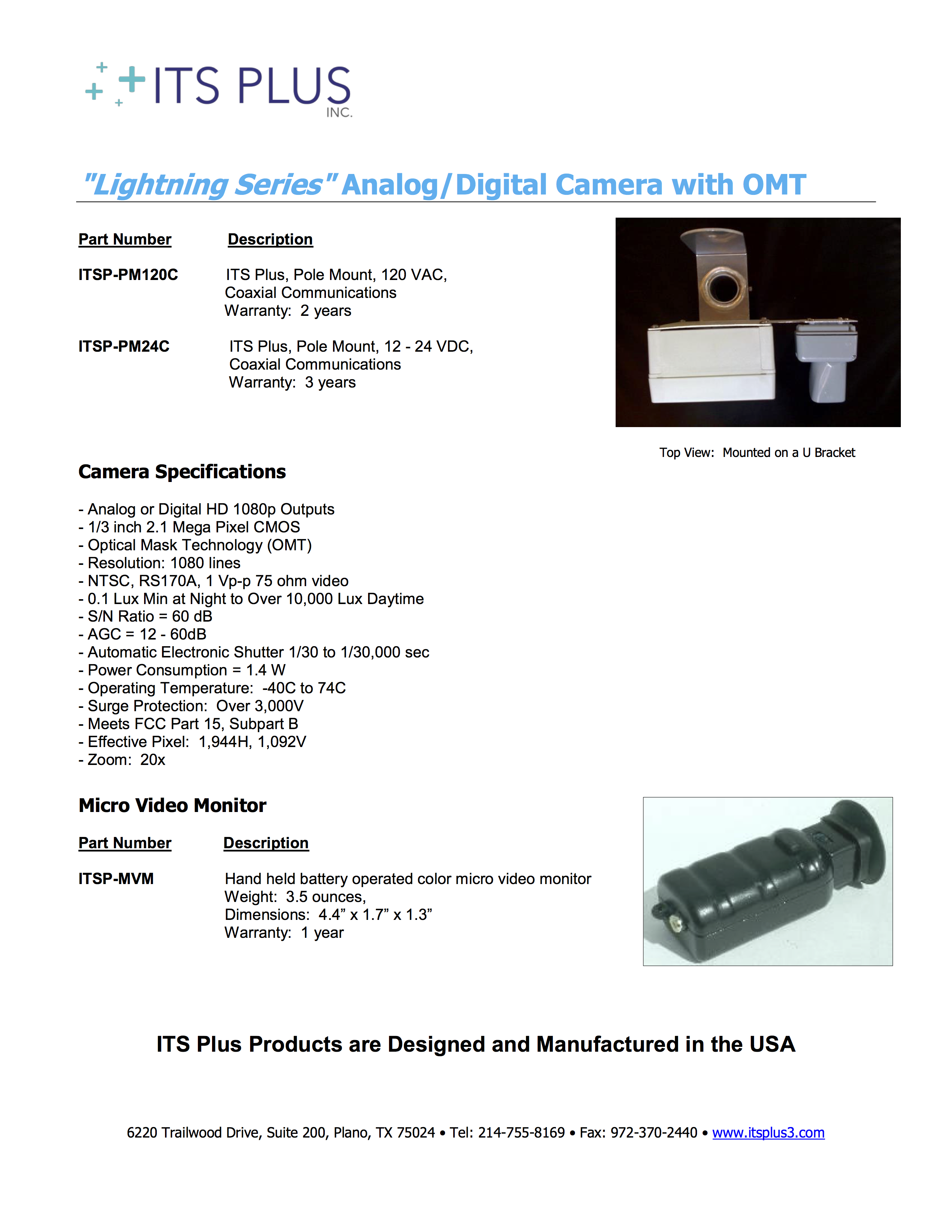 ITSP-PM120C HDM30pge2